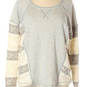 Vintage Havana grey top with sweater detail
